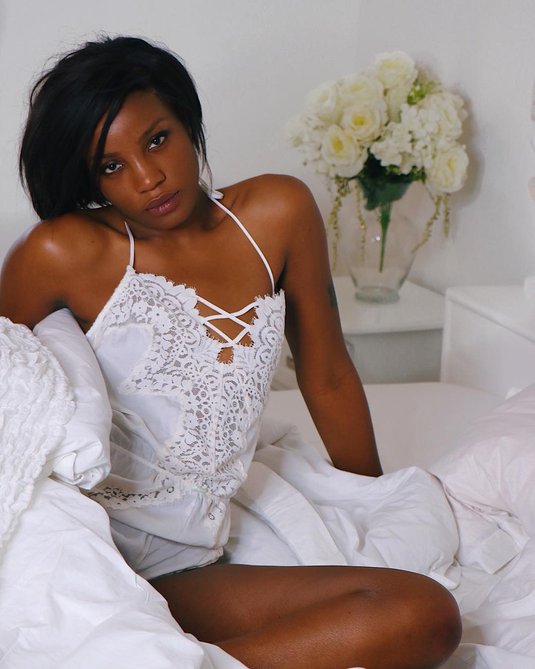 Image result for Seyi Shay Rejects Jesus As She Shares New Year Photo