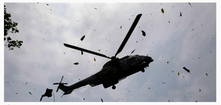 {filename}-Sad News In Airforce: 5 Dead In Borno Helicopter Crash. A Sign From God?