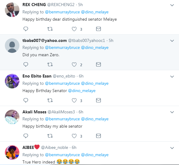 Ben Bruce, Nigerians Celebrate Dino Melaye As He Clock 45th Birthday On Sick Bed