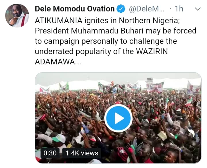 "See Why Buhari May Be Forced To Campaign Personally To Challenge Atiku"" - Momodu 8465053_img20190109wa0030_jpeg47df8a3e1e355fe7f96a8114b5d057f7"