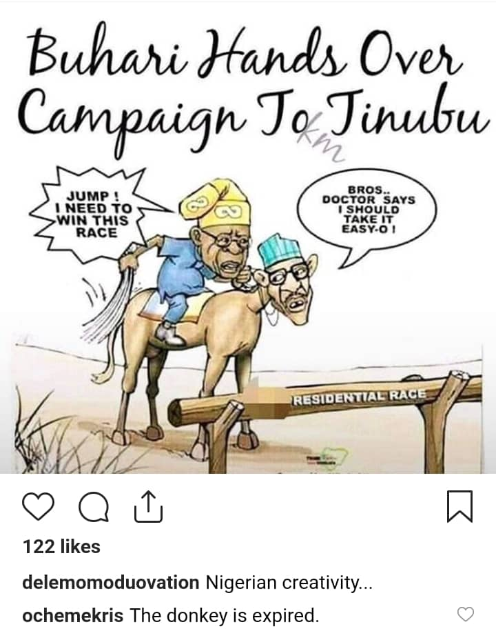 "See Why Buhari May Be Forced To Campaign Personally To Challenge Atiku"" - Momodu 8465055_img20190109wa0032_jpeg8df5e21fc647e87e5ec400beb5141434"