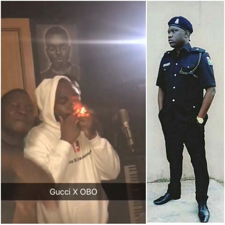 Yomi Sars Records A Song With Davido While He Is Smoking