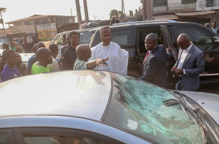 Photos As Saraki Visit PDP Supporters in General Hospital, Ilorin