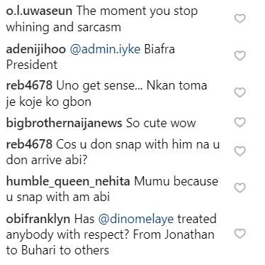 Former Bbnaija Housemate, Deeone Attacked For Saying Dino Melaye Should Be Treated With Respect 5