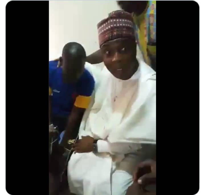 Survivor Of APC Attacks In Ilorin Breaks Down In Tears In Front Of Saraki [Photos]
