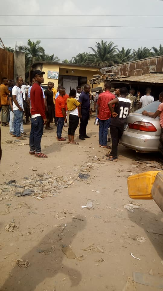 Man Beats His Elder Brother's Wife Mercilessly In Abia ...