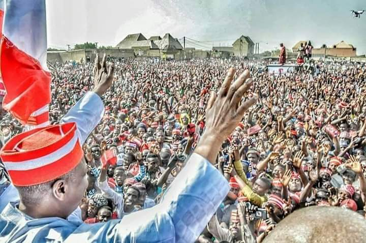 Image result for it's all over for APC as Atiku 'shuts down' Kano