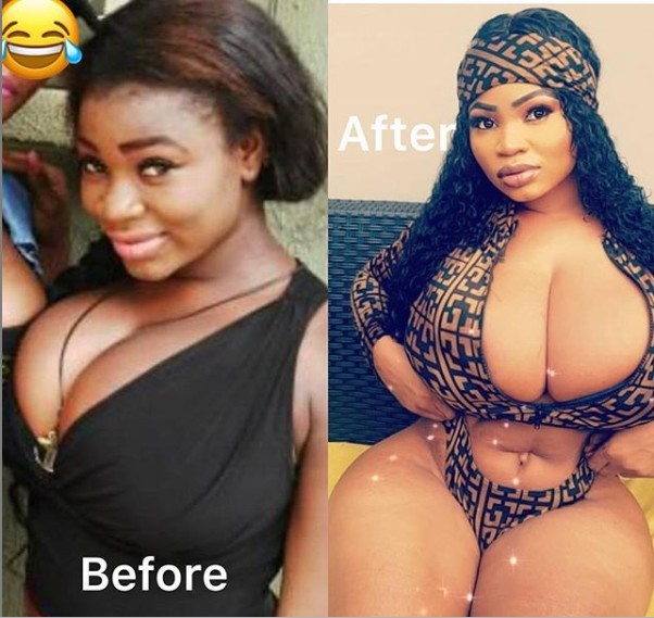 Image result for #10YearsChallenge: Roman Goddess Shares Cleavage-Baring Photos