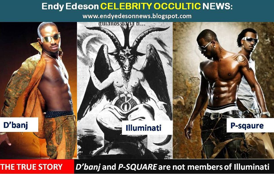 The True Story: D'banj And P-sqaure Are Not Members Of