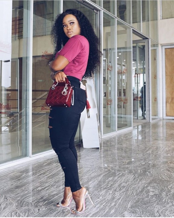 Cee-C Steps Out In Chic Designer Outfit