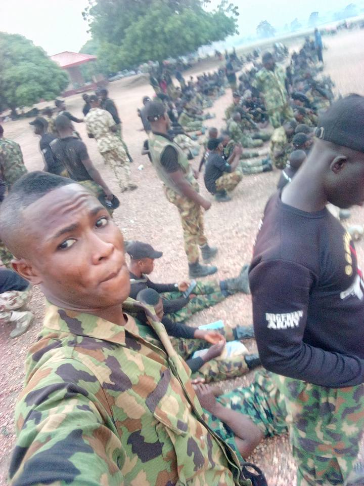 Young Soldiers Travel To Maiduguri In High Spirits To Battle Boko Haram