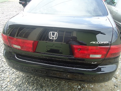 2005 black honda accord lx autos nigeria. Black Bedroom Furniture Sets. Home Design Ideas