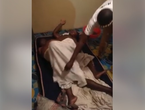 WATCH VIDEO: Kenyan Man Gets Stuck While Having Sex With Married Woman