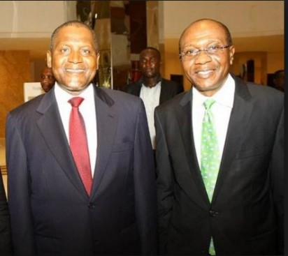 CBN Gives Dangote N75b Forex Support