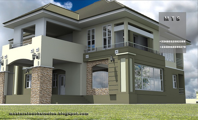 Architectural designs for nairalanders who want to build for 4 bedroom duplex designs