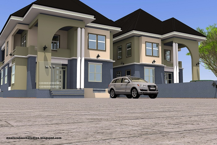 Architectural designs for nairalanders who want to build for Duplex prices to build