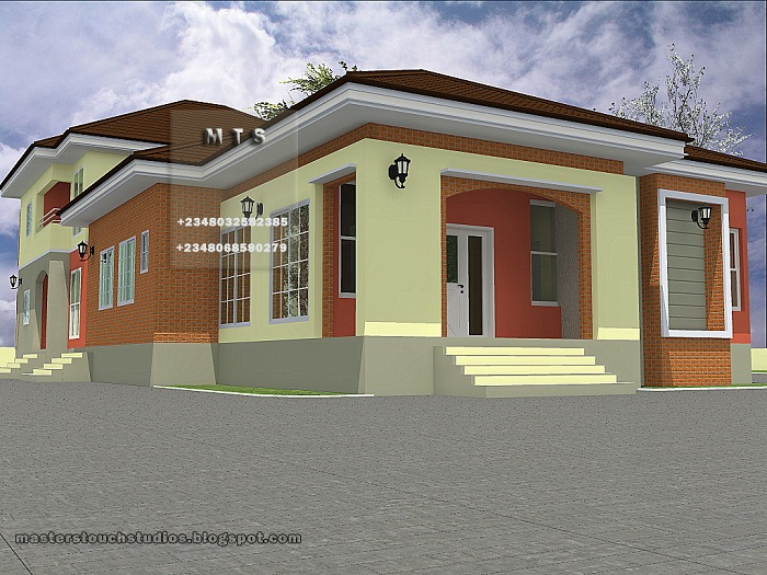 Architectural designs for nairalanders who want to build for Beautiful house designs in nigeria