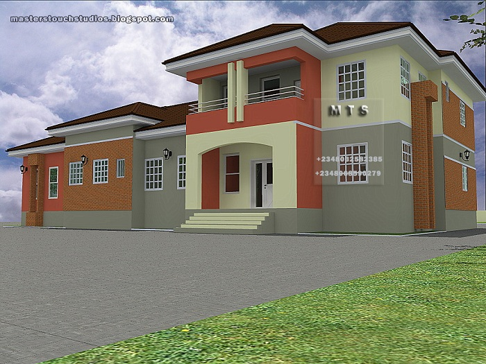 Architectural designs for nairalanders who want to build for 4 bedroom duplex designs in nigeria