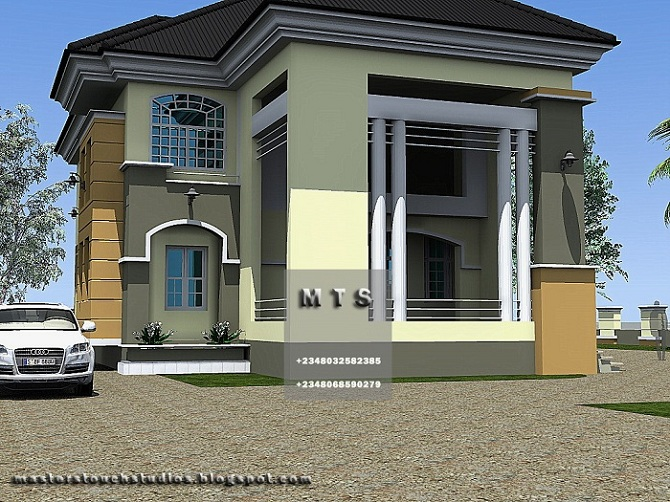 Modern duplex house plans in nigeria joy studio design for Modern duplex house plans in nigeria