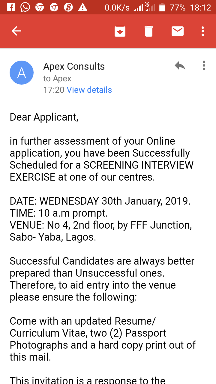 How To Identify A Scam Interview Invitation - Jobs/Vacancies (164