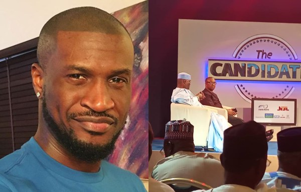 Fans Lambasted Peter Okoye For His Comment on Atiku And Peter Obi's Performance On #ngthecandidates
