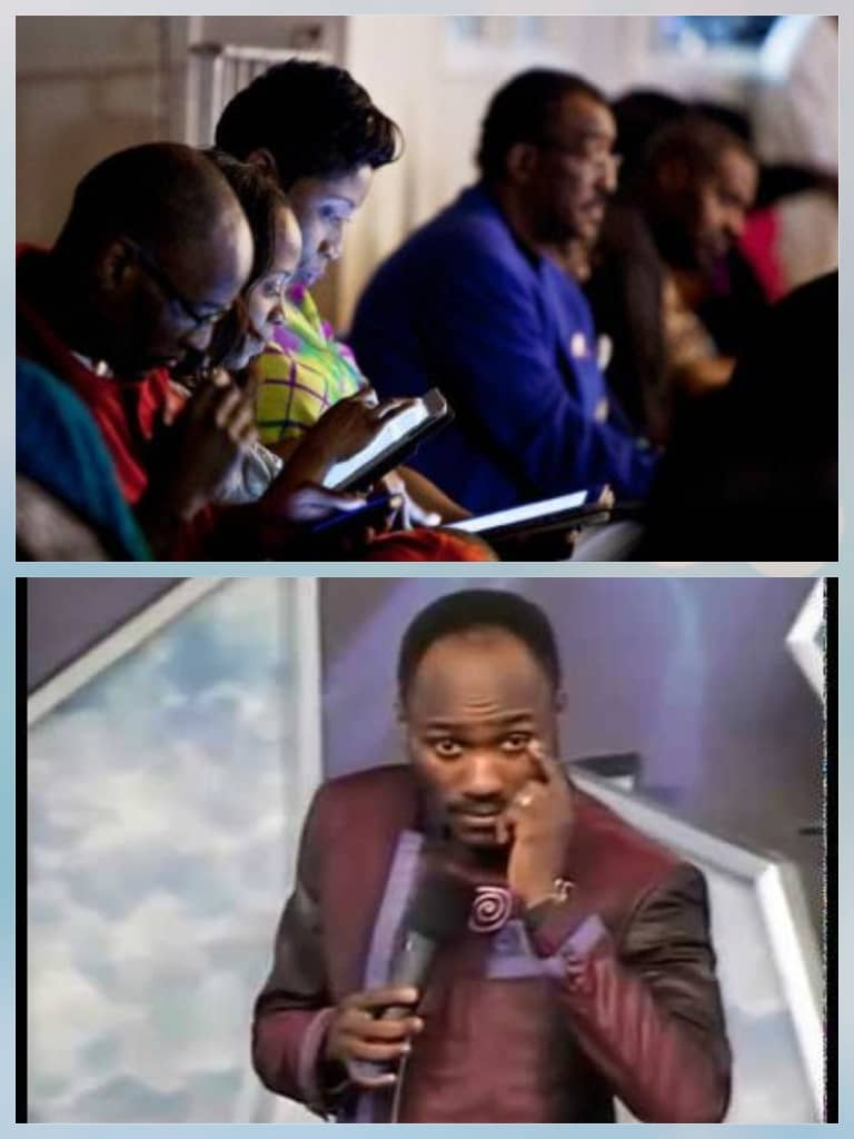 Apostle Suleman: 'Don't Come To Church With Phones, IPad To Read Bible'