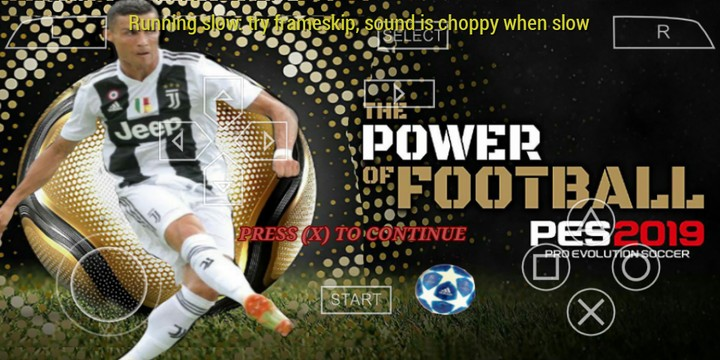 PES 2019 PPSSPP Iso Lite 300 MB For Android - Gaming - Nigeria