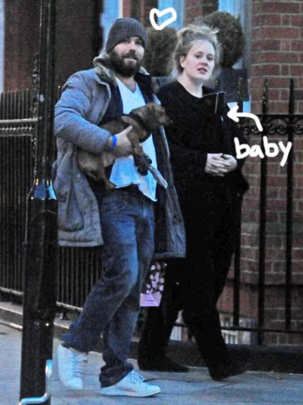 Adele With Her Baby; First Picture. - Celebrities - Nigeria
