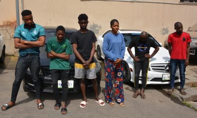 EFCC Nabs 10 Suspected Internet Fraudsters In Abuja (photos)