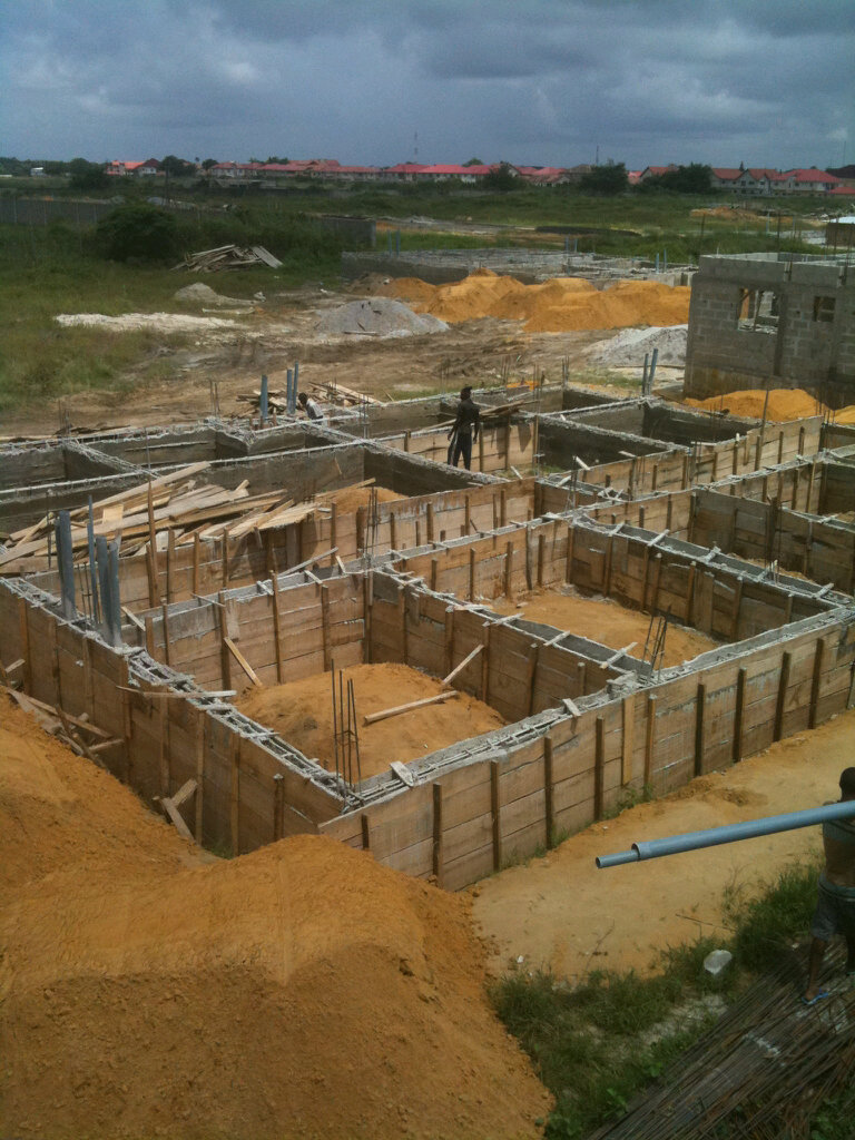 We are close to ground breaking at that stage well have lots of photos to share of the construction progress in the mean time here are a couple of