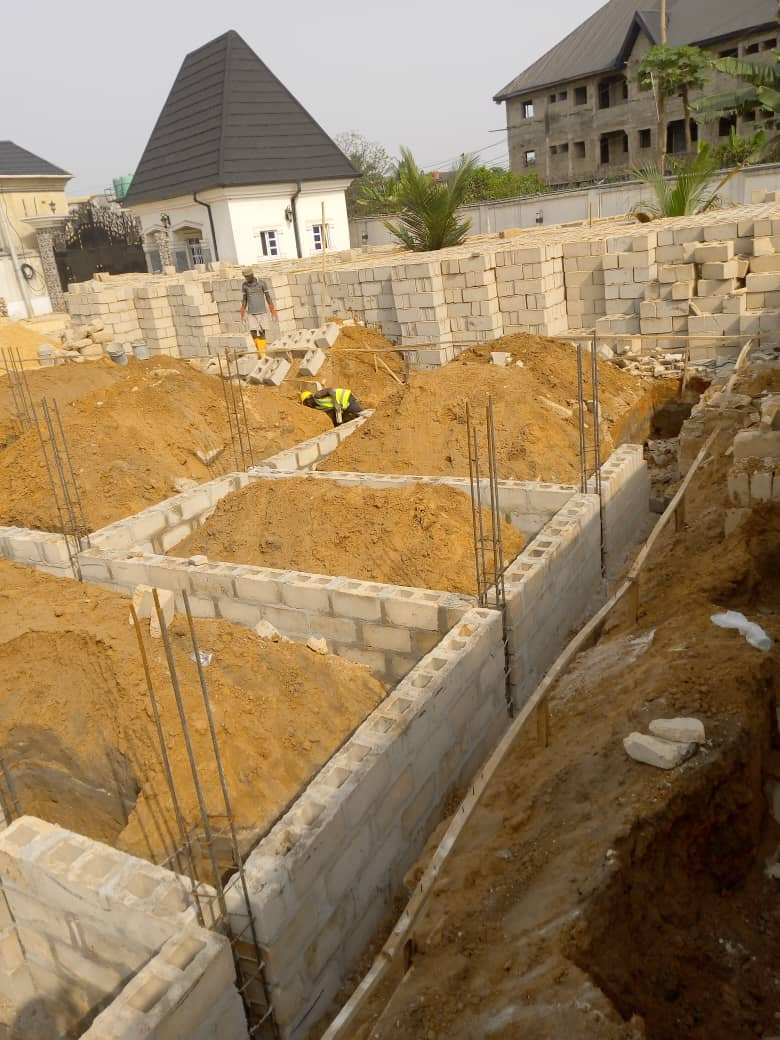 I may increase the height of the foundation from 1200 to 1500 as that may add to the beauty of the house and will also help in damp control measure