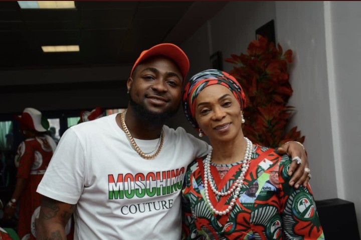 Davido With Atiku's Wife, Jennifer Abubakar In Rivers State