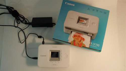 Canon SELPHY CP740 Printer Drivers Windows 7
