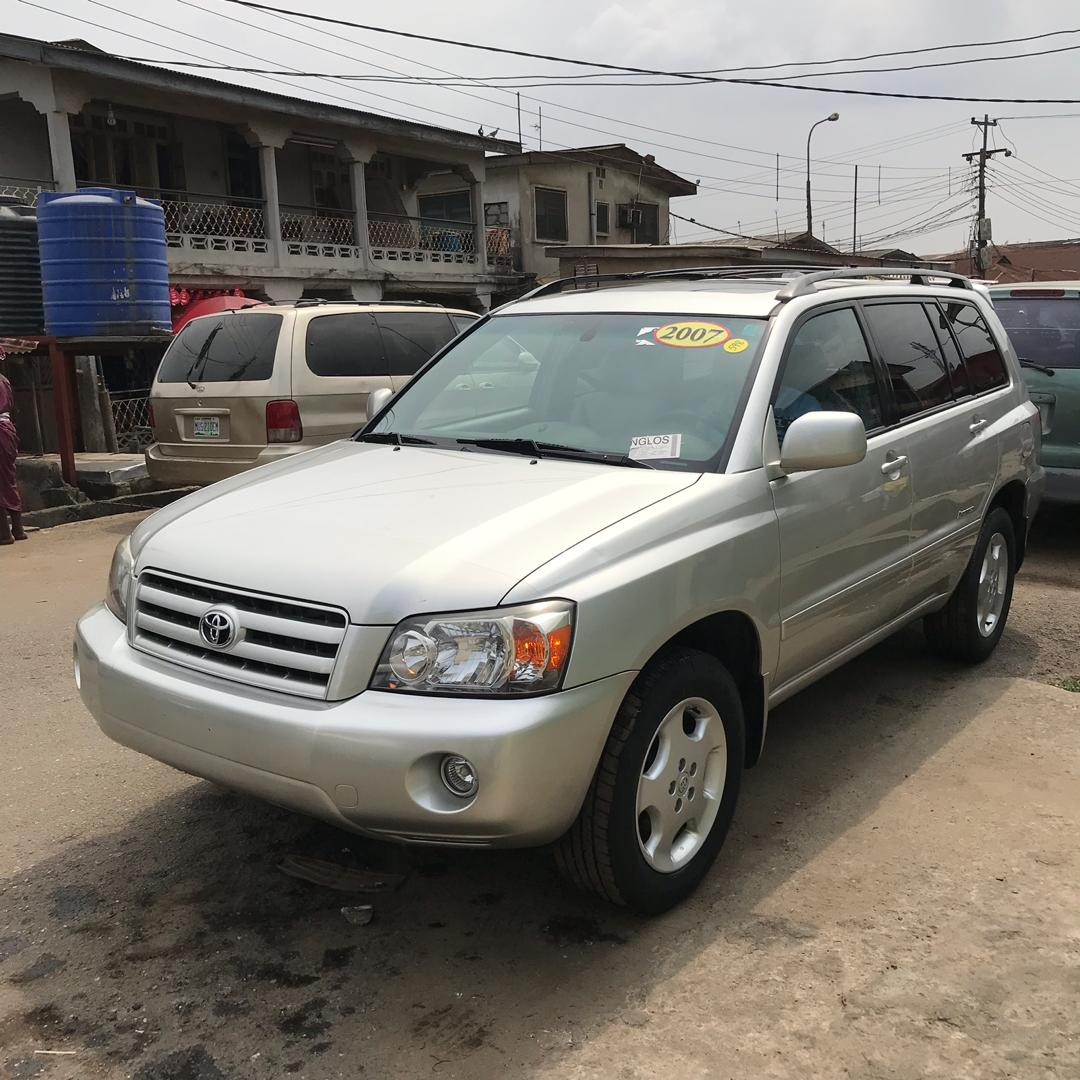Toyota Highlander For Sale: SOLD....Tin-can Cleared 2007 Toyota Highlander Limited