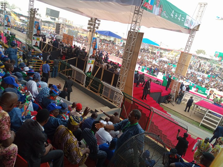 APC Rally In Ogun State: Ogun State APC Presidential Campaign Rally In Pictures
