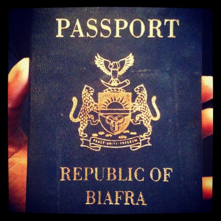 Biafra Passport: Supposed Independent Country  Not Recognised - US, UK