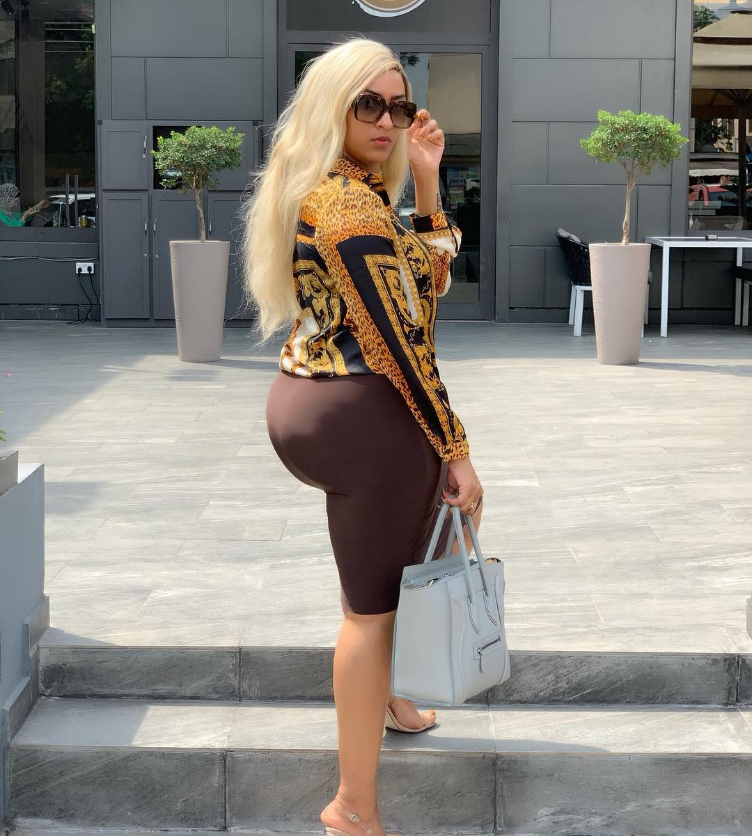 Juliet Ibrahim Flaunt Backside In New Adorable Photo — Akelicious