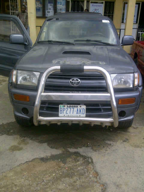 I Have A Used 1998 Toyota 4runner For Sale Full Option