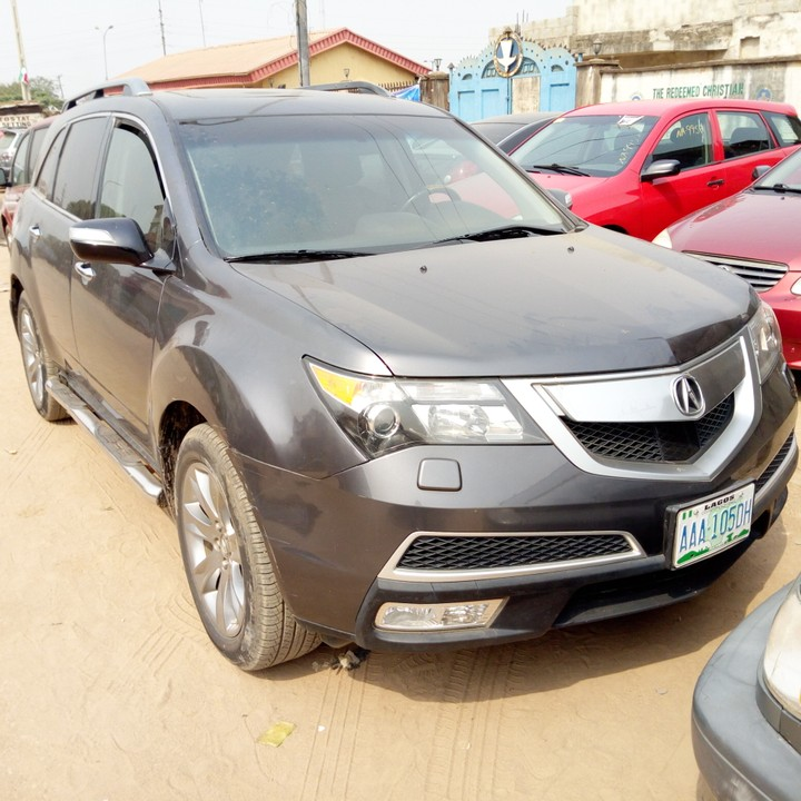 Clean Acura MDX 2011 Model For Sale