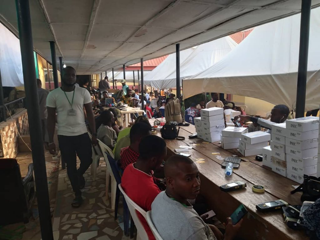 INEC Replaces Card Readers For 14 Lgas Remaining 7lgas In