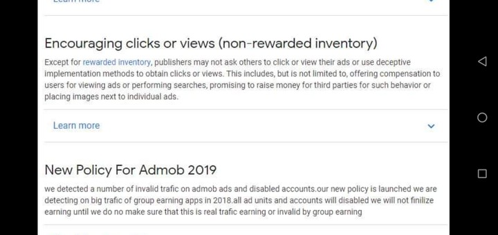 Admob Earners Both UK And NG Come In For Update newbies too don't