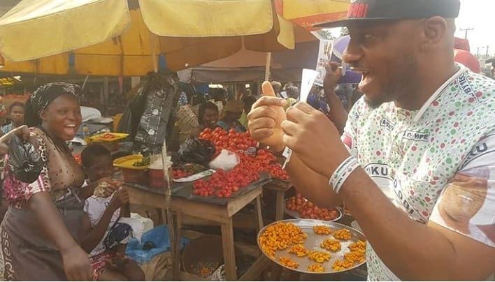 Yul Edochie Goes From House To House To Campaign For Atiku And Obi