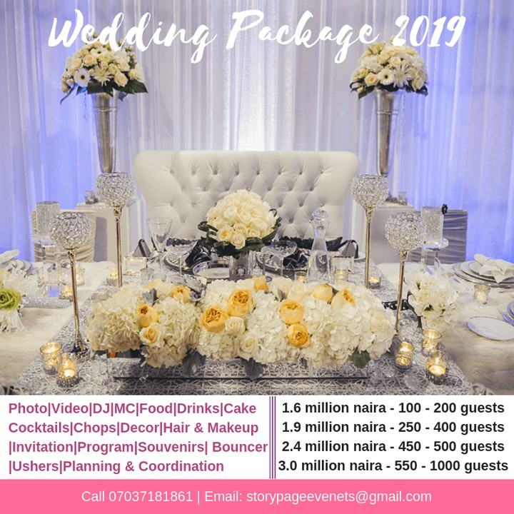 Cheap Budget Wedding Package For Brides & Grooms Getting