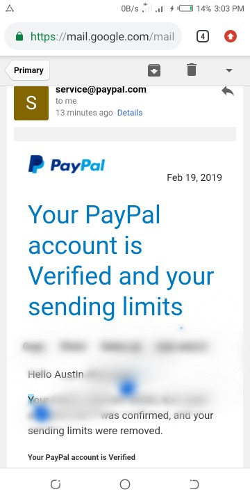 USA Verified Paypal Account - Webmasters - Nigeria
