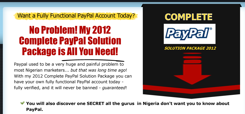 how to open paypal account in ireland