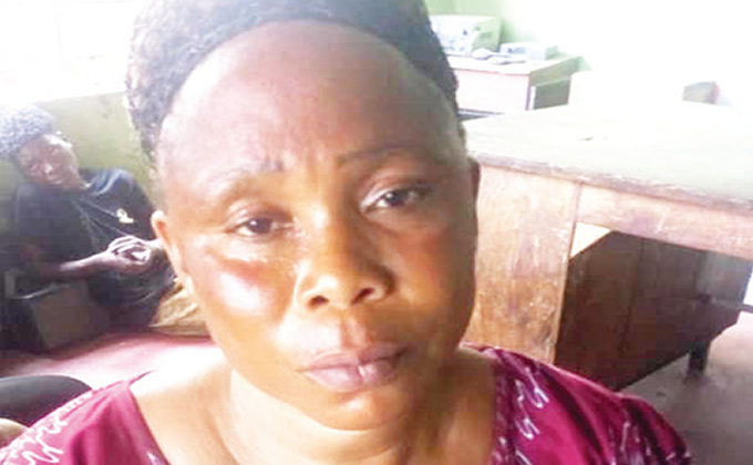 See 45-Year-Old Woman Caught Dumping Her Lover's Corpse In Ogun Bush
