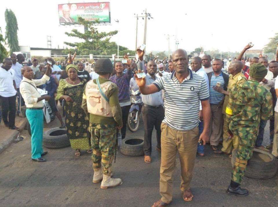 Protest Hits Southern Kaduna As Soldiers Prevent Residents From Voting