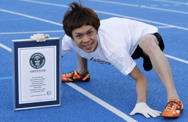Fastest Man On Four Legs Sets Guinness World Record