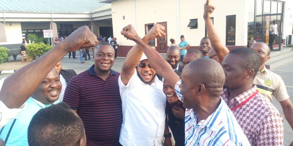 Michael Enyong's Egede Greeting Raises Eyebrow At Akwa Ibom Airport. Photos