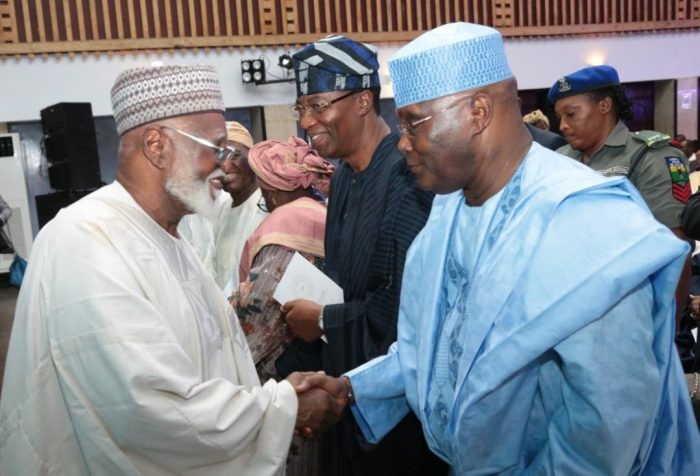 Abdusalami-Led Peace Committee In Crucial Meeting With Atiku, Obi In Abuja